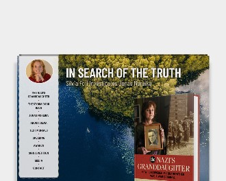 Custom Wordpress website for a Chicago-based author and journalist Silvia Foti.