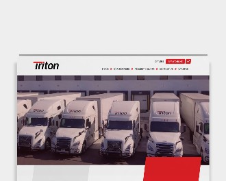 triton logistic trucking website lead generation